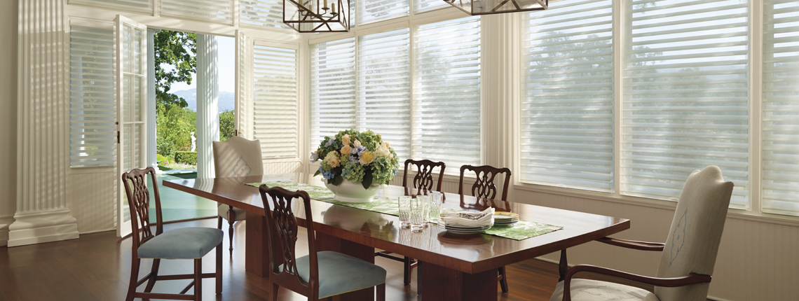 Silhouette Clearview Window Shadings Dallas Farmers Branch Tx Area